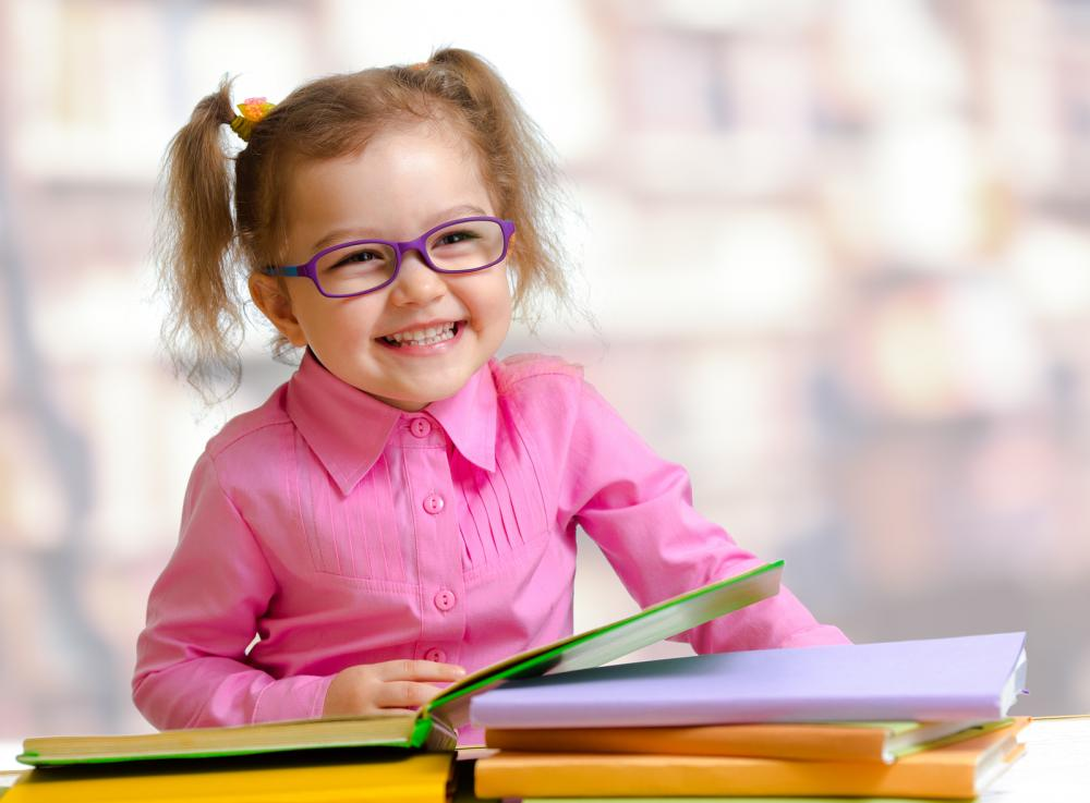 Girls With Glasses From Childrens Books